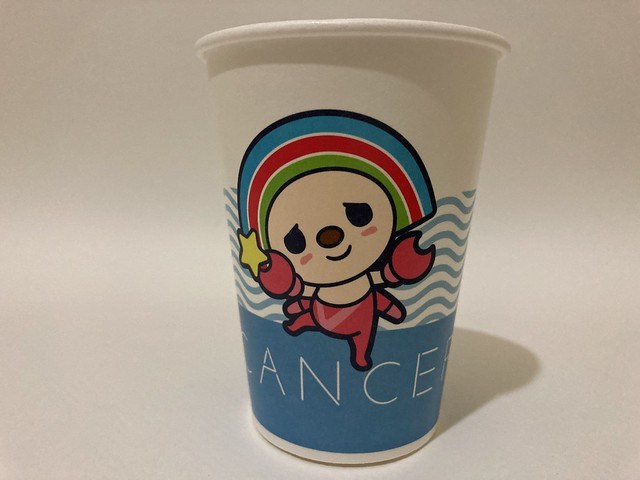 Photo:7-Eleven Taiwan OPEN小將 OPEN-chan Cancer crab By Majiscup Paper Cup Museum 紙コップ美術館
