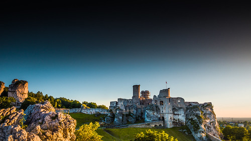 Castle in the Land of the Witcher