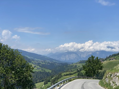Blick in Richtung Innsbruck