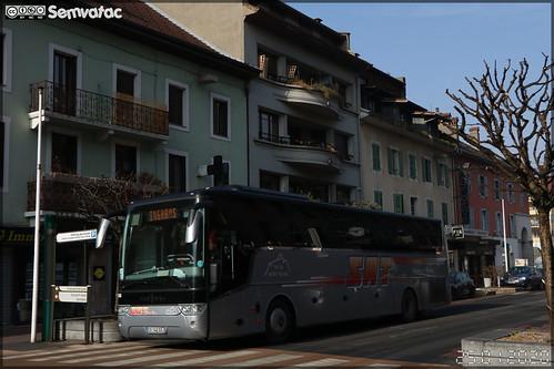 Van Hool TX 16 Alicron – SAT Mont Blanc (Société Alpes Transports) n°188
