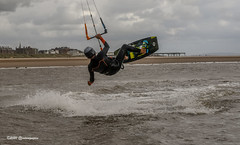Kite Surfing off Lancashire 28.07.2020