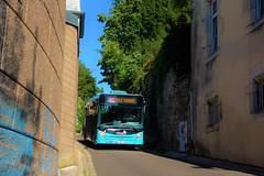 Heuliez Bus GX 127 L n°89  -  Besançon, GINKO