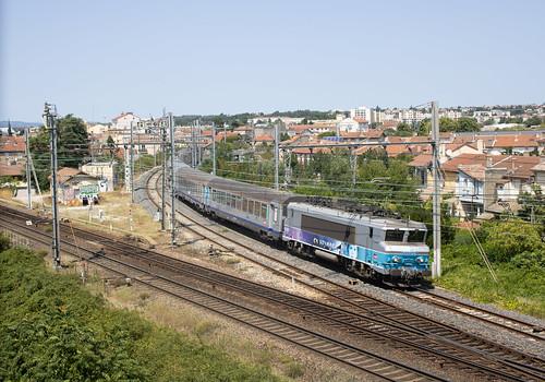 BB 22360R + TER Chambéry - Valence @Bourg-lès-Valence