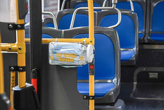 MTA Installs Mask Dispensers Inside Buses