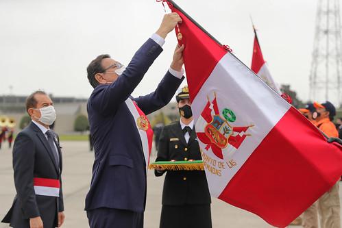 El Presidente de la República y Jefe Supremo de las Fuerzas Armadas y Policía Nacional del Perú presidirá la Ceremonia Cívico Militar de Homenaje a los Héroes de Batalla por el 199° Aniversario de la Independencia Nacional del Perú.
