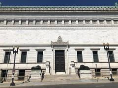 Corcoran Gallery detail, 17th Street NW, Washington, D.C.