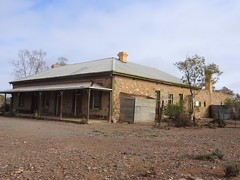 Beltana in the South Australian Flinders Ranges. The former Royal Victoria Hotel built in 1878. Closed as a licensed hotel in 1958. Now a private residence.