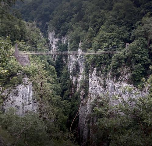 Puente colgante de Holtzarte