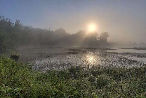 *Sonnenaufgang am Eichholzmaar*