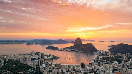 Aurora @Mirante Dona Marta, Rio de Janeiro, Brazil