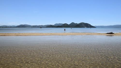The calm sea at  Neretva delta