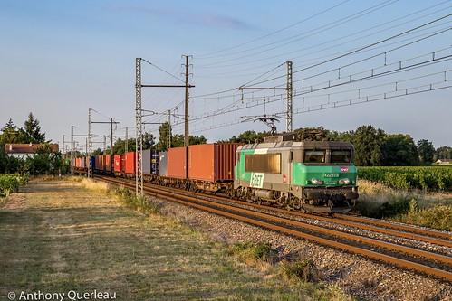 29 juillet 2020 BB 22275 Train 474659 Valenton -> Bordeaux-Hourcade Lalande-de-Pomerol (33)