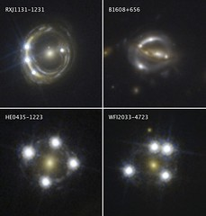 Cosmic Magnifying Glasses Yield Independent Measure of Universe's Expansion
