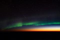 Aurora and Sunrise