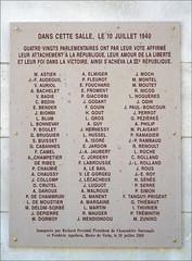 Les Parlementaires opposés au gouvernement de Pétain (Opéra de Vichy)