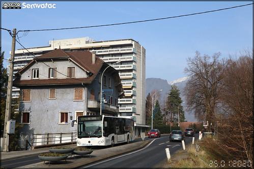 Mercedes-Benz Citaro – Transdev Rhône-Alpes Interurbain – Groupement Arve Mobilité / Arv'i n°565