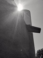 Le Corbusier, Notre Dame du Haut à Ronchamp (Haute Saône), détail