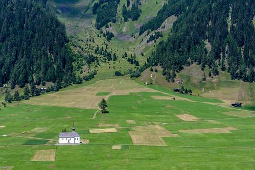 Entre Gluringen et Ritzingen, vallée de Conches
