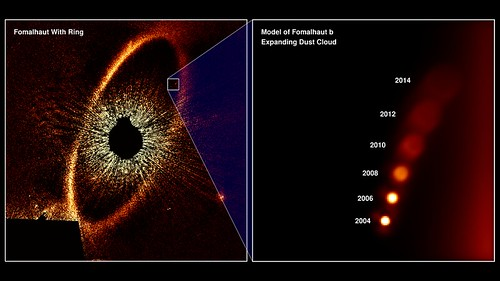 Exoplanet Apparently Disappears in Latest Hubble Observations