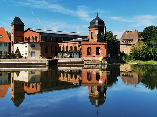 Saale bei Bernburg