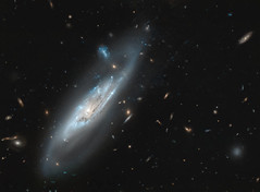 Ghostly Galaxy NGC 4848