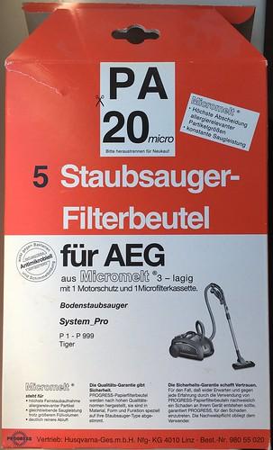 Staubsaugerbeutel für AEG