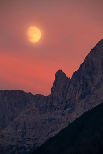Detail of Grosse Sandspitze - Osttirol - Österreich