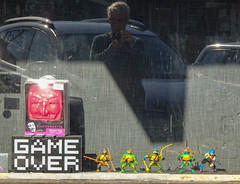 Game Over in the Window