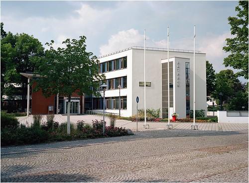 Das Rathaus in Coswig/Sachsen