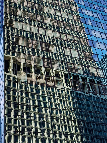 Reflection at 39 Whitehall