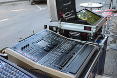 Professional mixer for stage light.