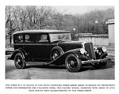 1933 Pierce-Arrow Seven-Passenger Sedan
