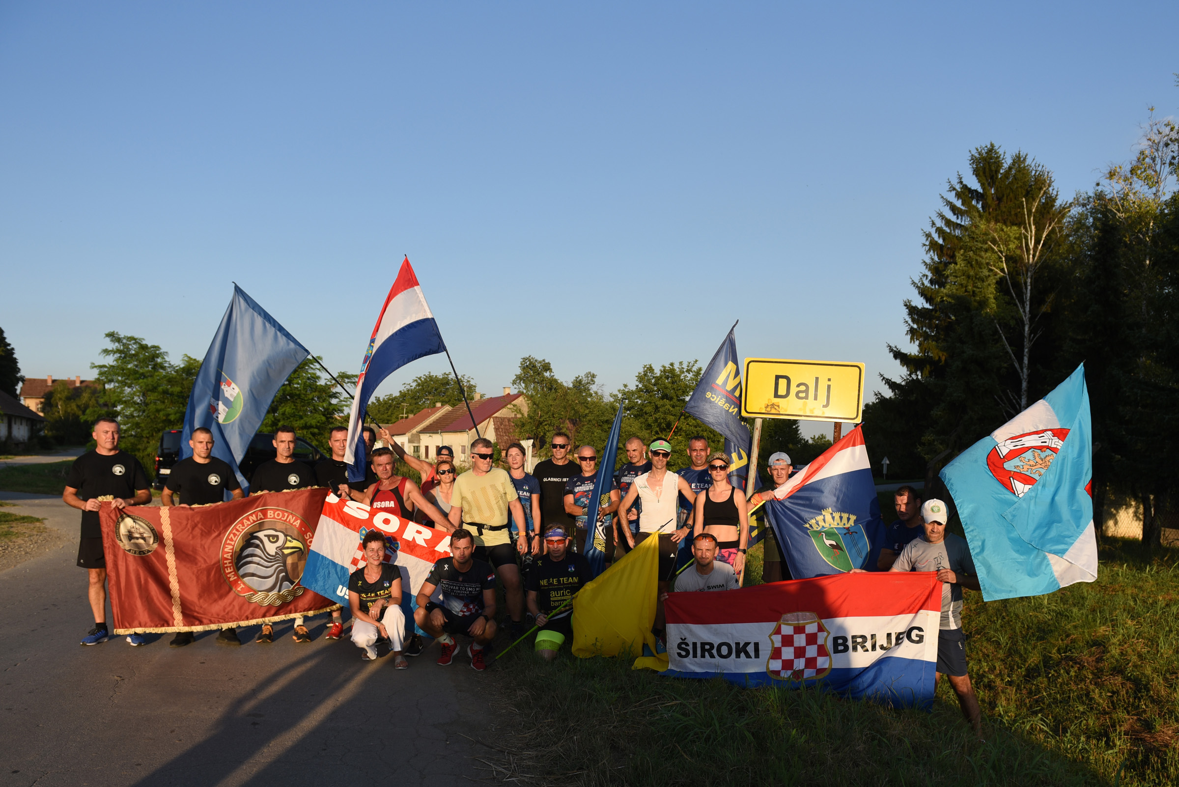Hrvatski vojnici sudjelovali na utrci Vitezovi Dalja