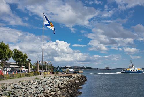 Viola Desmond Ferry Departing Alderney Landing Dartmouth Nova Scotia