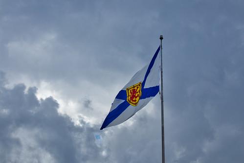 Nova Scotia Flag at Alderney Landing Dartmouth Nova Scotia 1