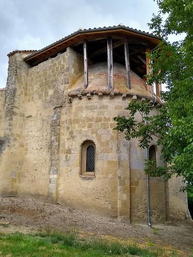 Église Romane du XII e siècle de Castet en Dorthe