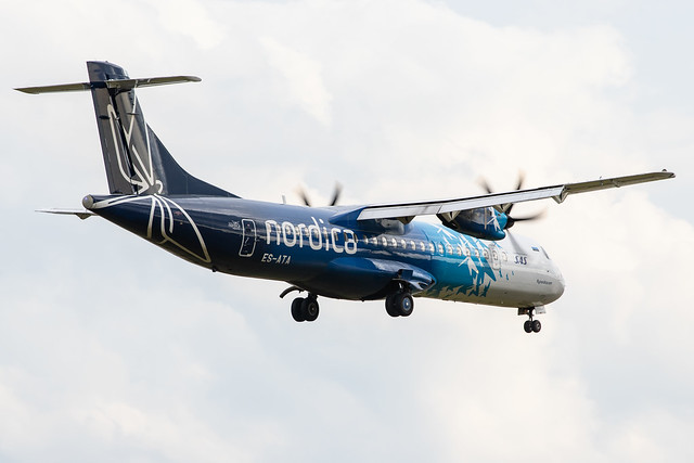 Photo:Hamburg Airport: Nordica (EE / EST) | Operator: Xfly |  ATR 72-600 AT76 | ES-ATA | MSN 1038 By kevin.hackert