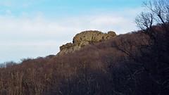Humpback Rock, viewed from below