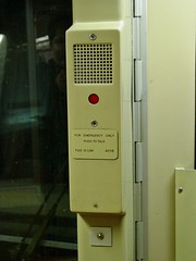 Emergency intercom on car 4018