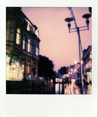 Rainy, Blurry Cardiff...