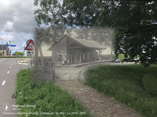 Tramstation De Rijp 1919-2020