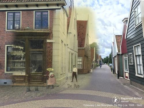 De Rijp - Jan Boonplein 1908-2020