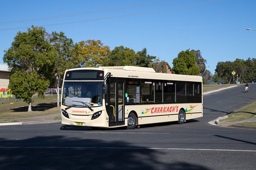 Cavanaghs Kempsey 7708 MO ADL Enviro 200 on a route service in North Kempsey