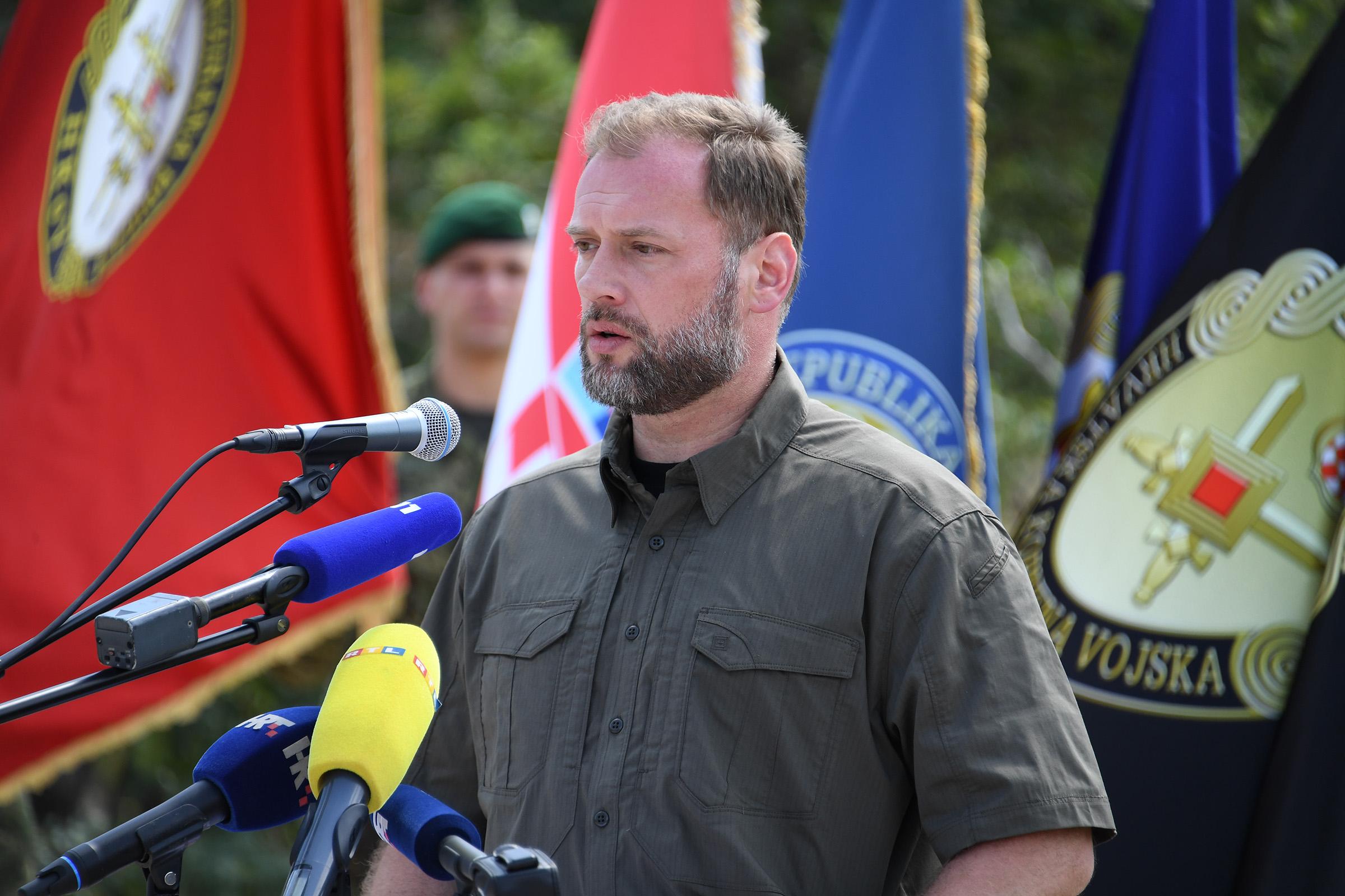 """Preimenovanje vojnog poligona """"Crvena zemlja"""" u """"Josip Markić"""""""