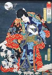 Un concours de magiciens d'U. Kunisada (Musée des arts d'Afrique et d'Asie, Vichy)