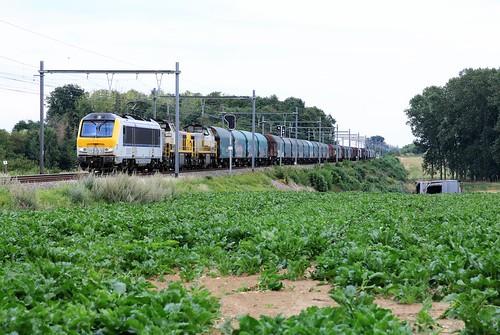 Lineas 1303 met 7855 en 56 en 34940 Niel Gingelom 03-08-2020