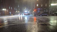Falafel Truck in the Rain