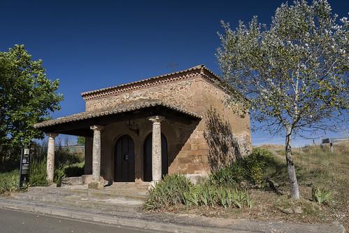 Jirueque. ermita de La Virgen de la Soledad.