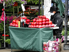 Pomegranates and pomegranate juice