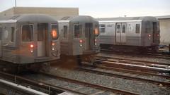 2019-01-19_1614-44-000 D train and N train at Coney Island Yard